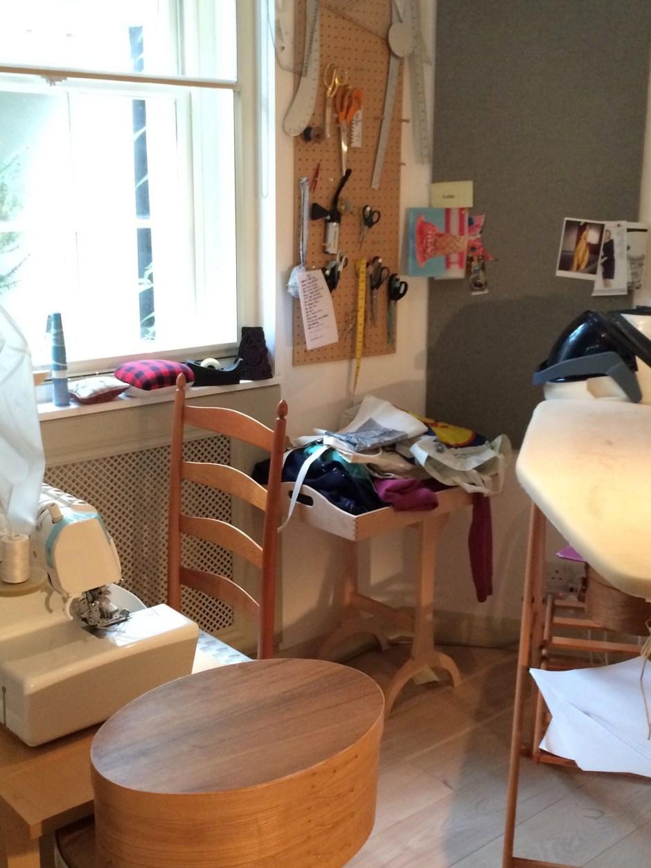 Kondoed Sewing Area