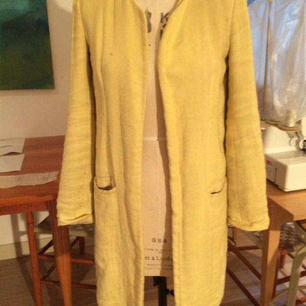 Shabby Zara Coat