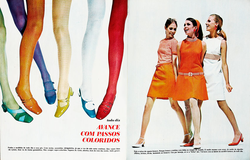 1968: Tights and shoes