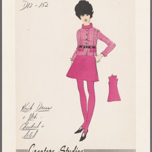 Vintage Fashion Drawings