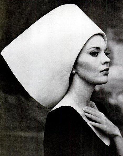1963: Yves St Laurent hat