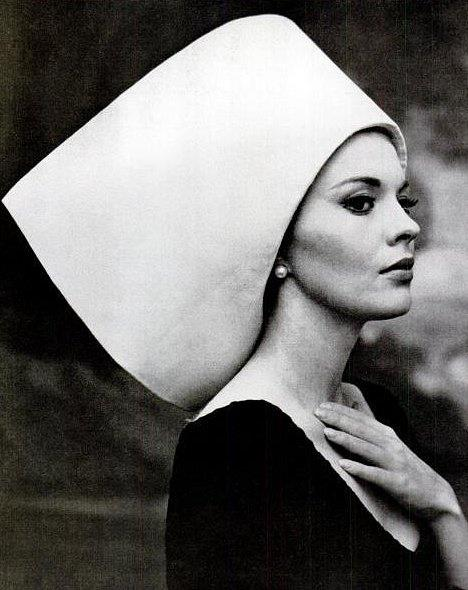 1963: Yves St Laurent hat