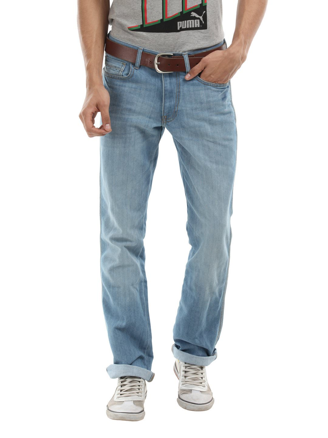 Dec 30,  · Contrast a dark blue jeans with a very faded light blue shirt and voila! Alternately, a light blue jeans with an ink colored shirt will do beautifully as well. Note that this look banks on contrast, so try not to have the same color jeans and shirt.