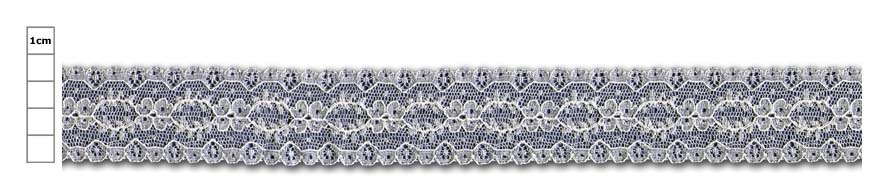 straight edged lace