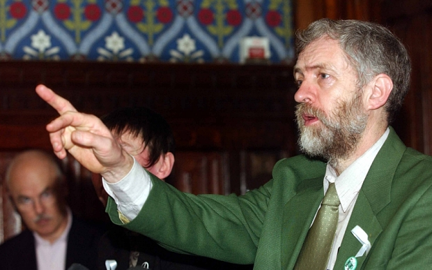Corbyn in Green