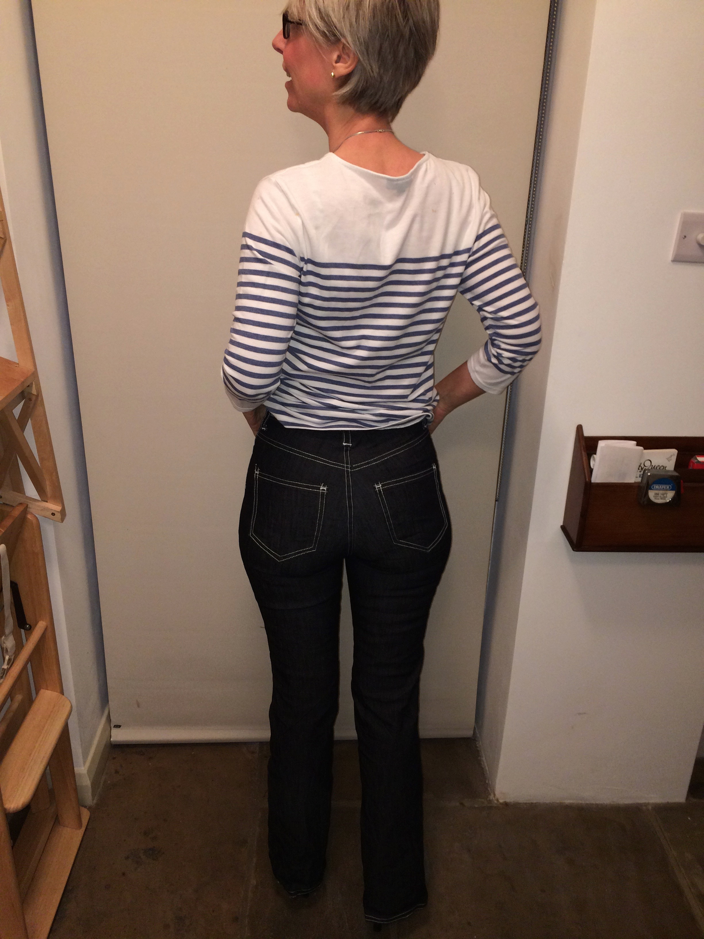 Birkinjeans back view