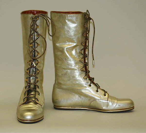 YSL boots (late 60s)