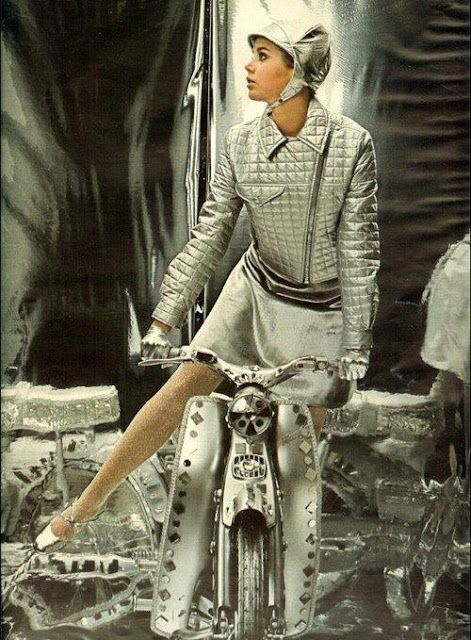 1960s scooter outfit