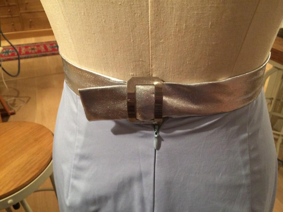 Spadea NS-249 Back buckle detail