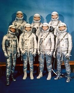 Mercury Seven Astronauts