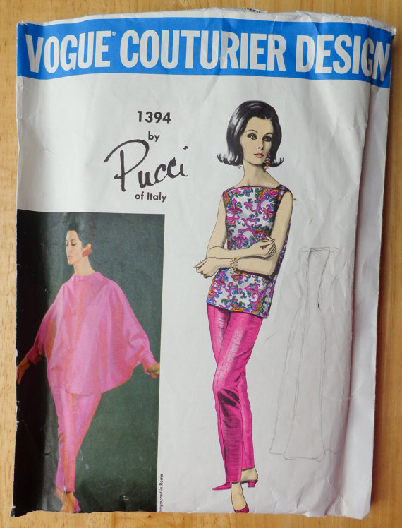 Pucci Pattern for Vogue