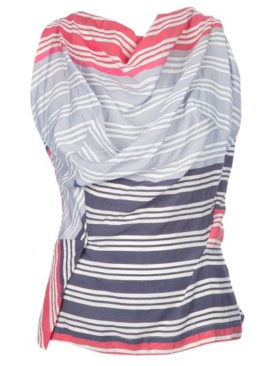 Westwood pieced cowl top