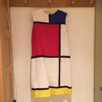 My Mondrian dress (V1556 modified)