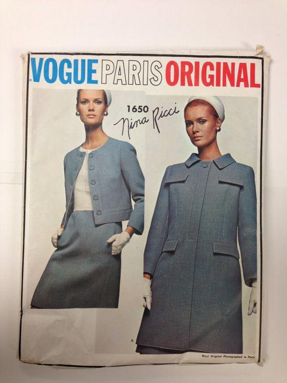 Vogue 1650 Nina Ricci