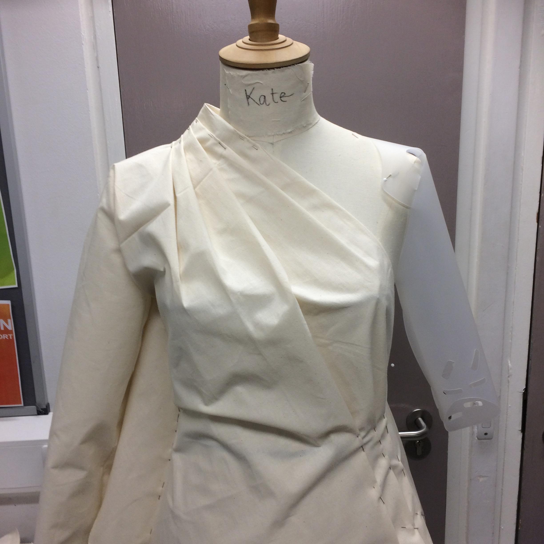 Schiaparelli draped blouse