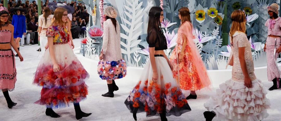 Chanel floral motifs