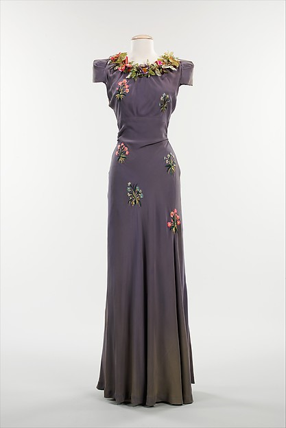 Schiaparelli evening dress 1938 Pagan collection