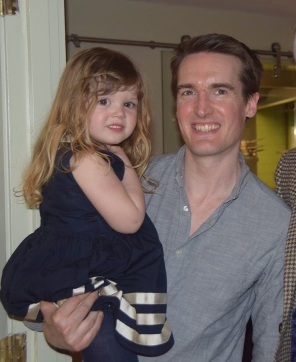 Ben with his lovely daughter