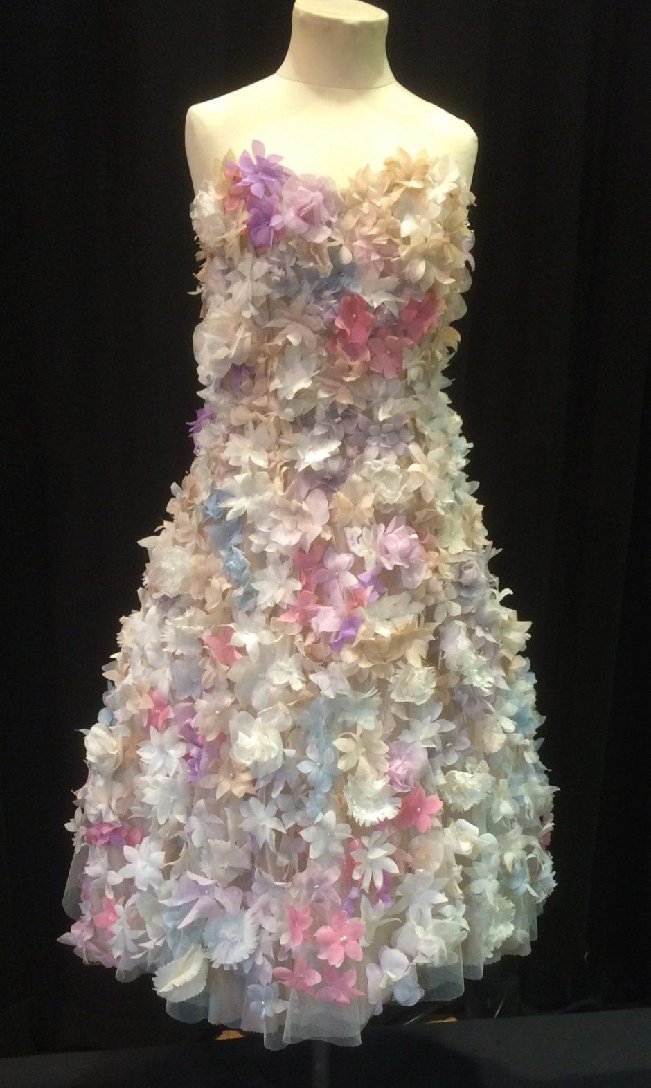 Hollie Kostis floral dress
