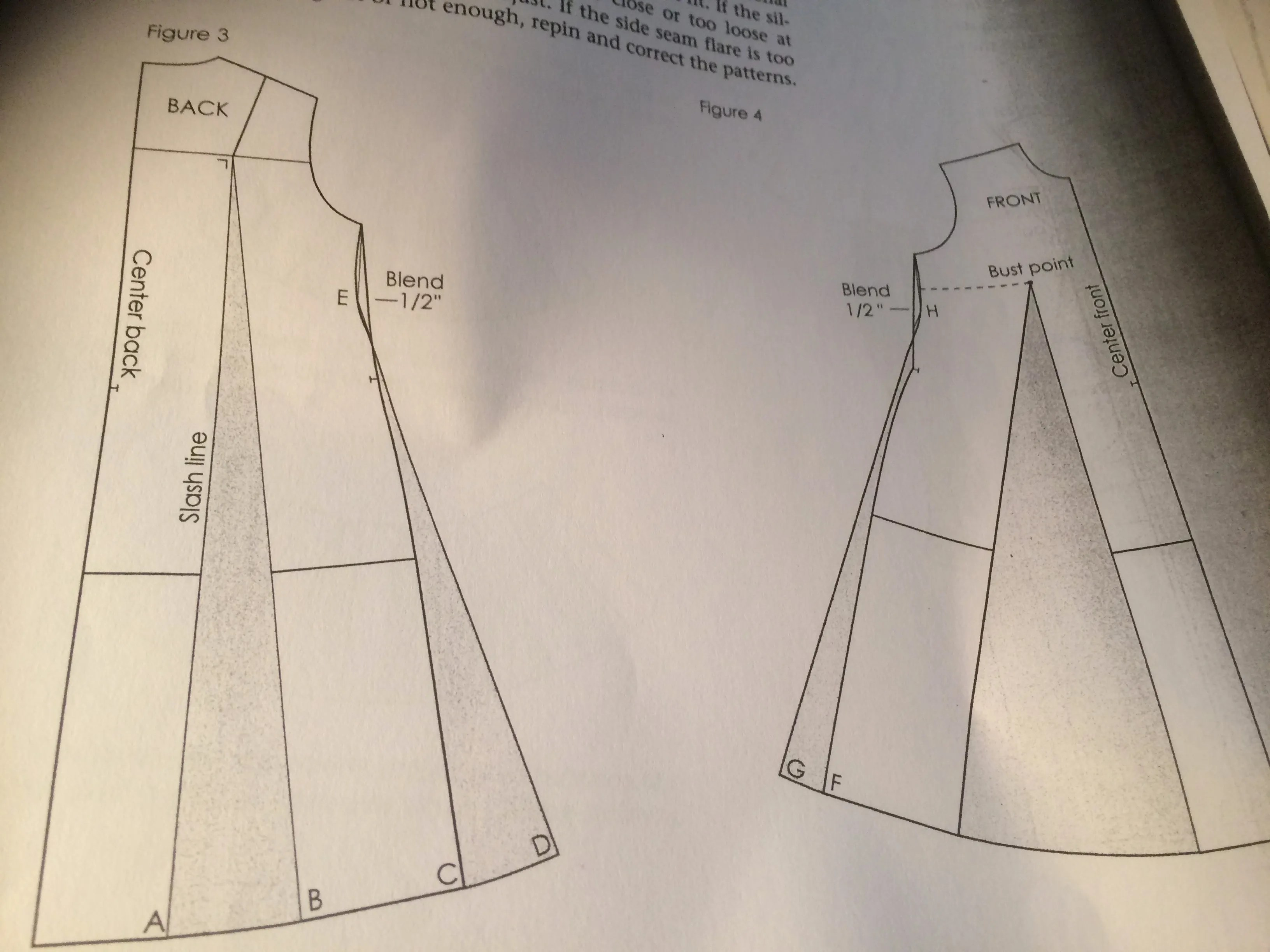 Making a tent dress