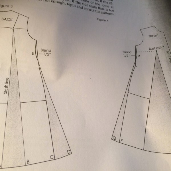 Making a tent dress