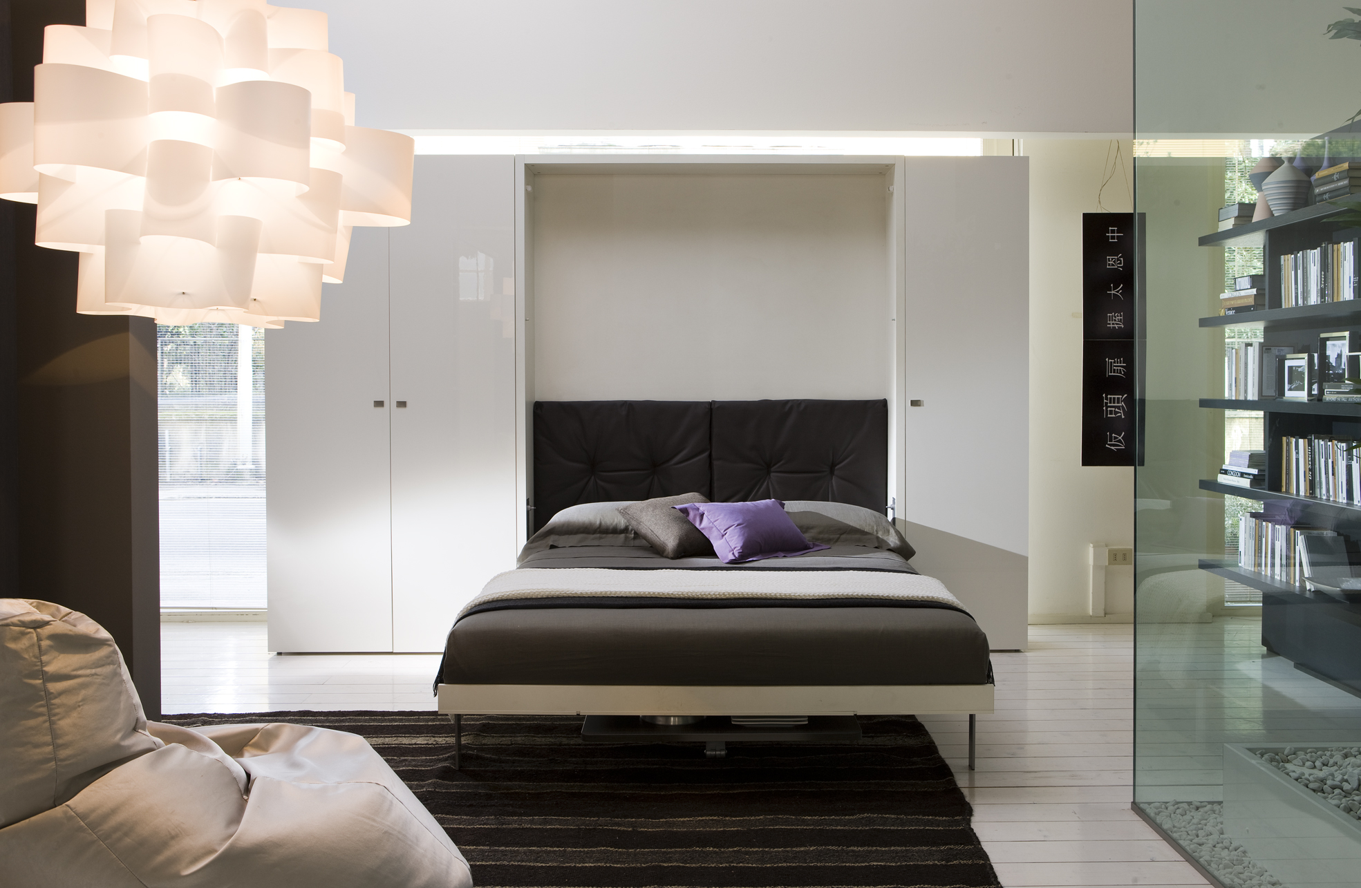 Pull down bed