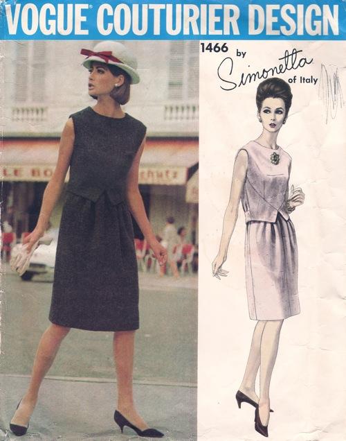 Vogue Couturier Design 1466