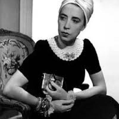 Schiaparelli in a turban