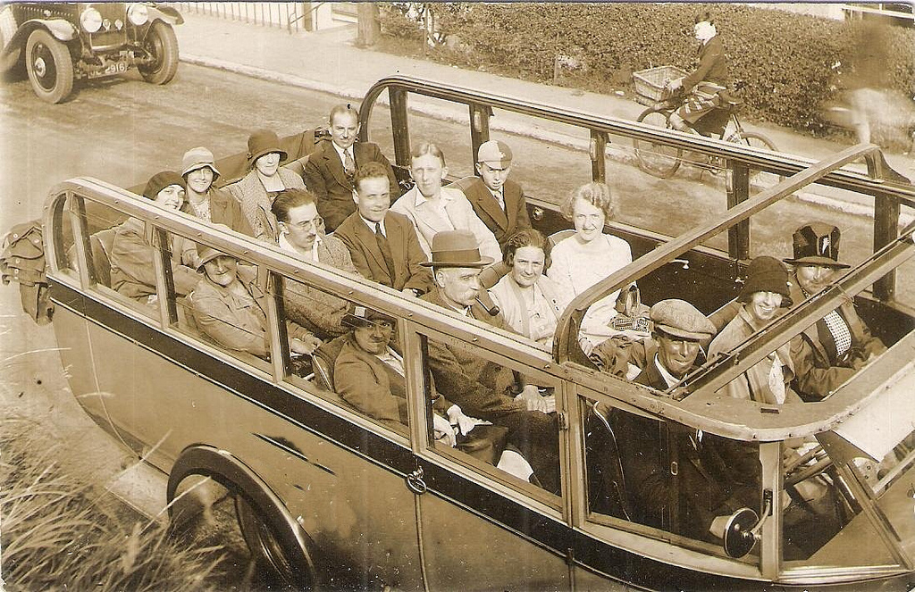 Charabanc outing from Bristol
