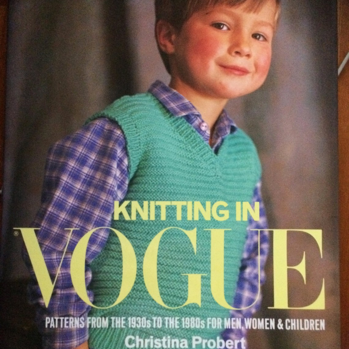 Knitting in Vogue book