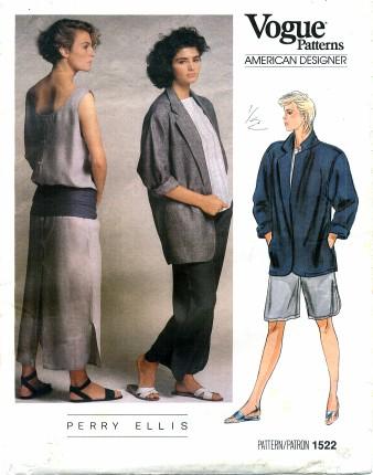 1985 Perry Ellis Vogue 1522