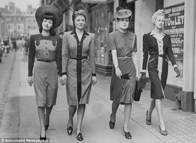 1942 London fashions