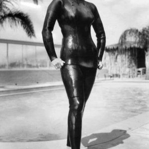 1960s style wetsuit