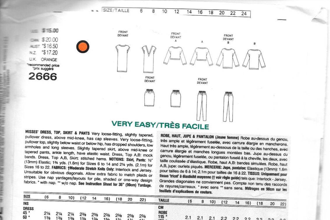 V2666 Technical drawings and description