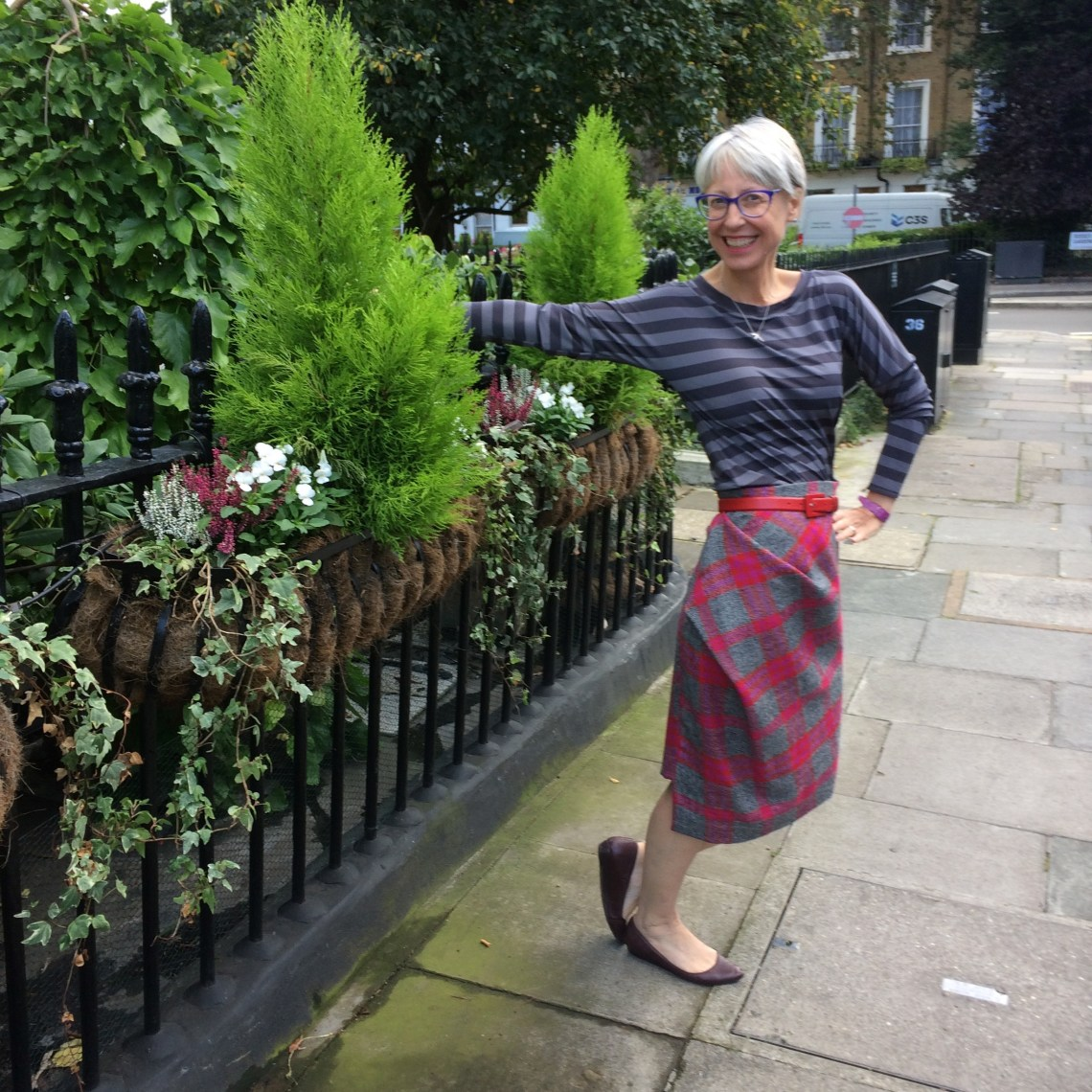 Sew Over It Molly T. With Vivienne Westwood skirt