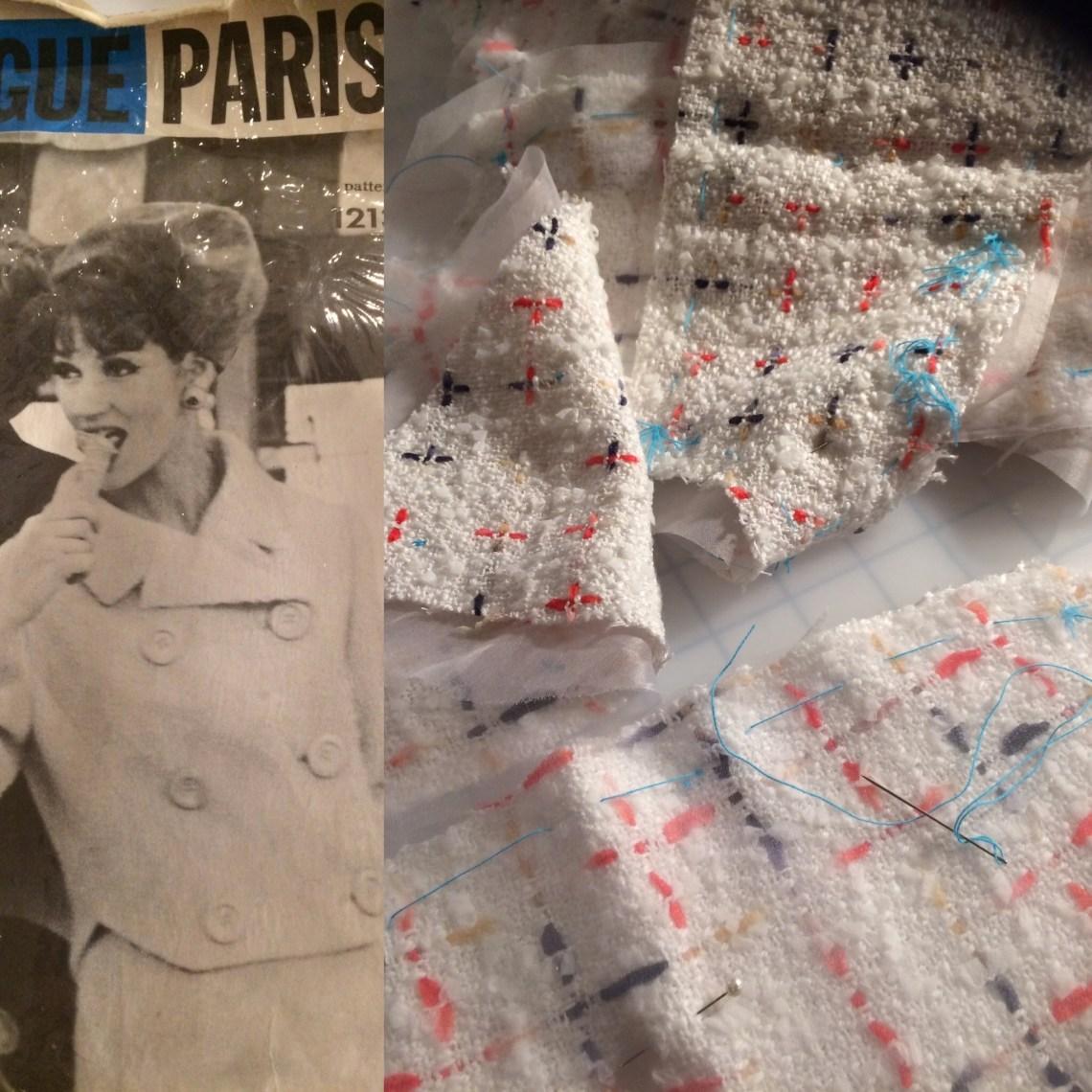 Pattern/fabric/tailors tacks