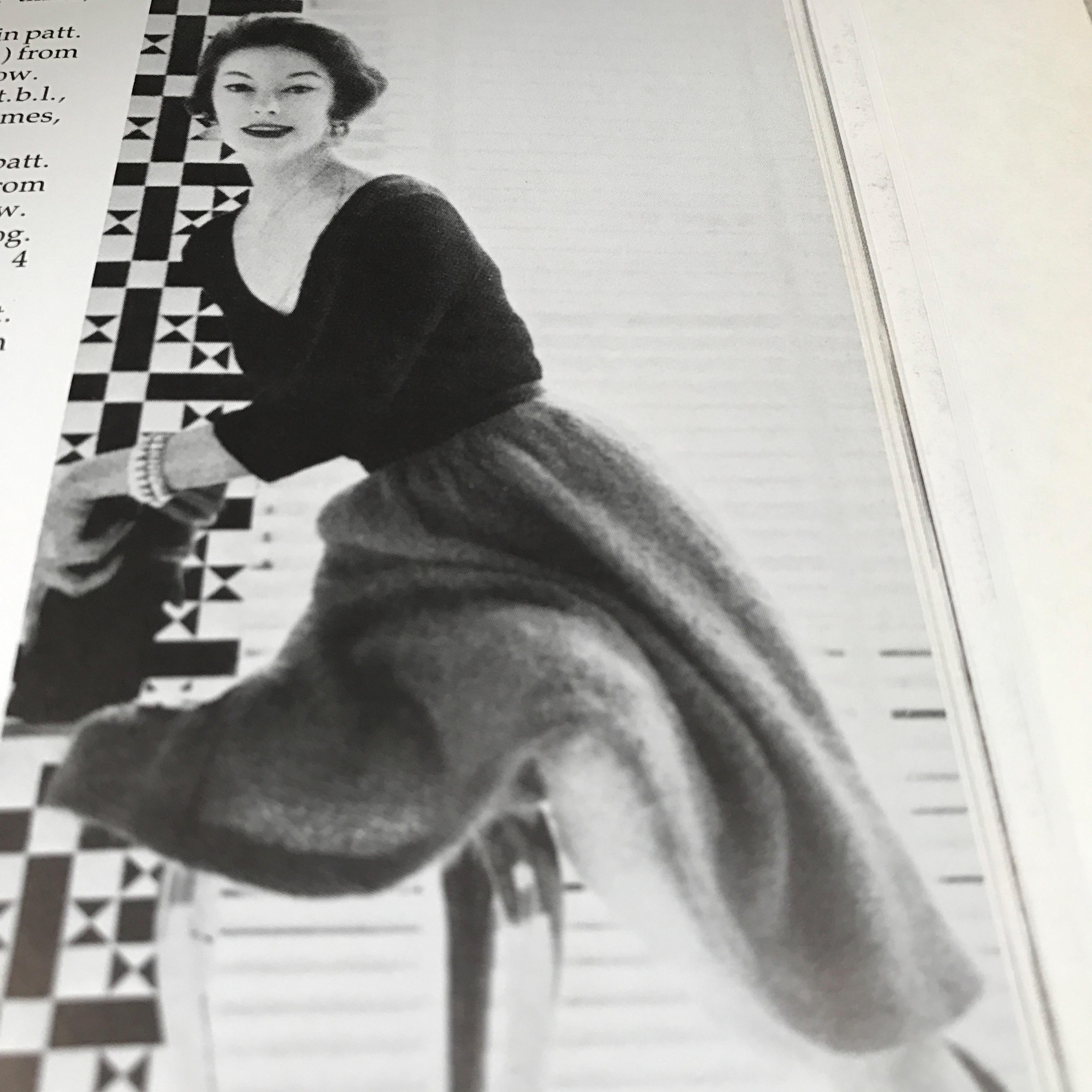 1953 Mohair skirt