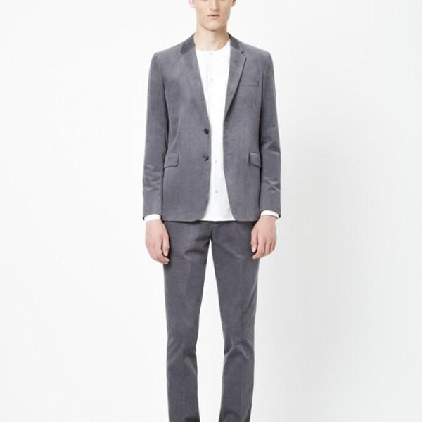 COS grey cord suit
