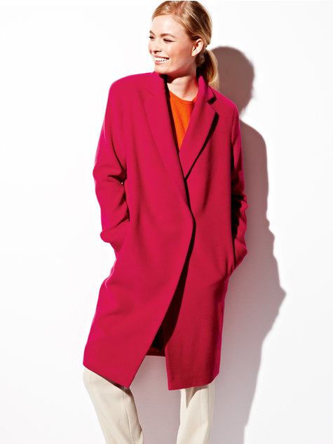 Burda Wool Long Coat 08/2012