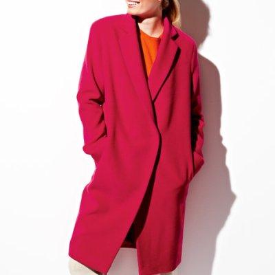 Burda Wool Long Coat 08/2012