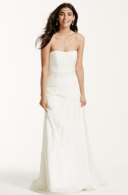Straight figure (David's bridal)