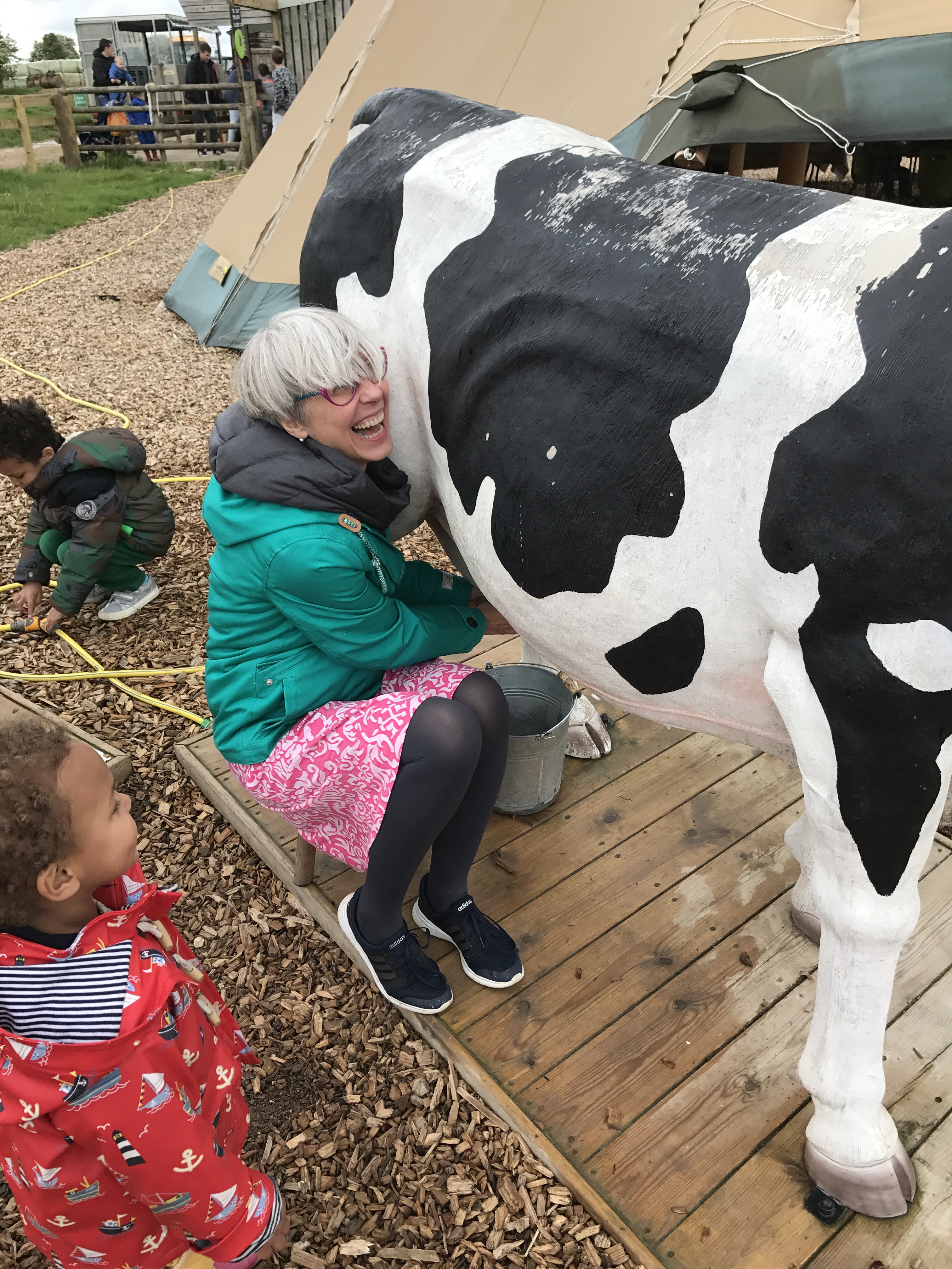 """Milking a """"cow"""""""