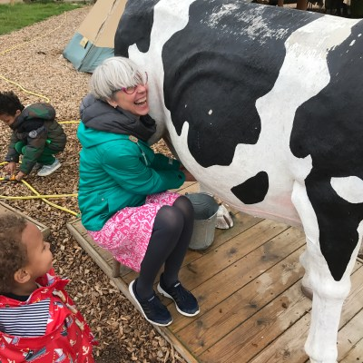 "Milking a ""cow"""