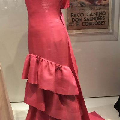 Flamenco-style evening dress, Cristóbal Balenciaga, Paris, 1961.