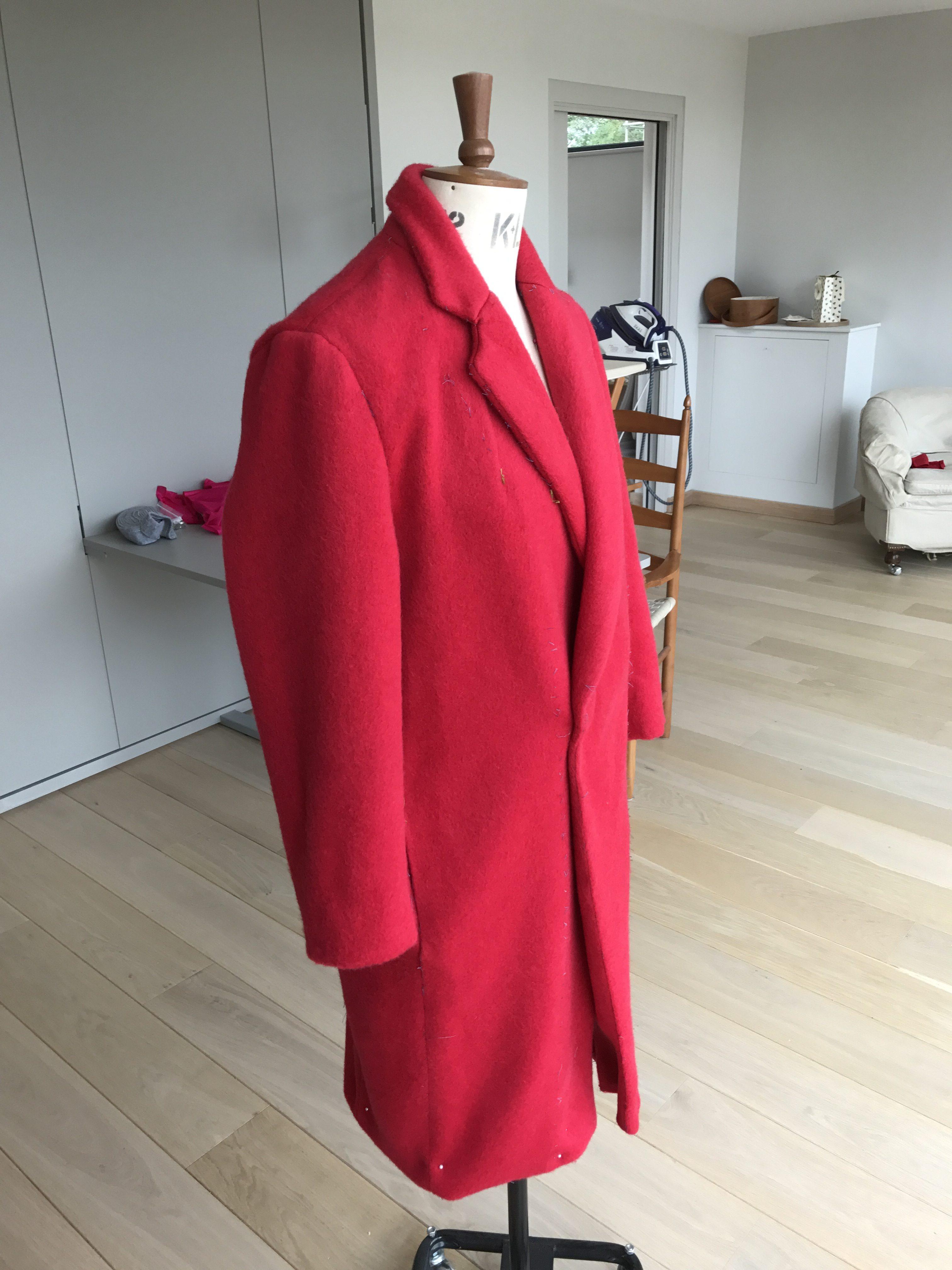 Burda Red Coat