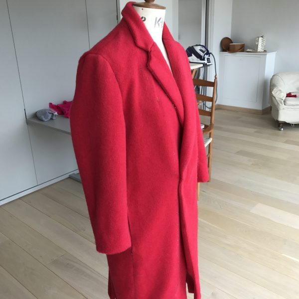 Burda Red Coat