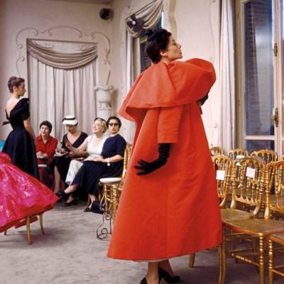1954 Balenciaga coat