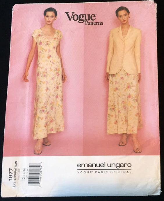 1997 Vogue 1977 Ungaro