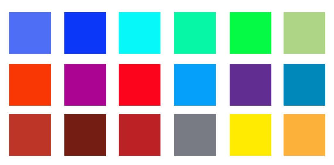 #dresslikefridasal Mexican palette