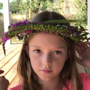 Millie made her own crown too
